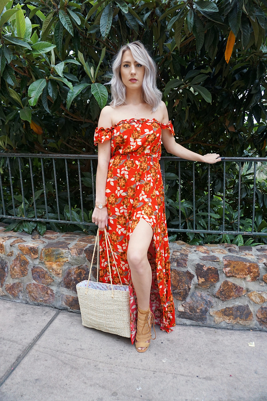 Floral Maxi Dresses Under $50