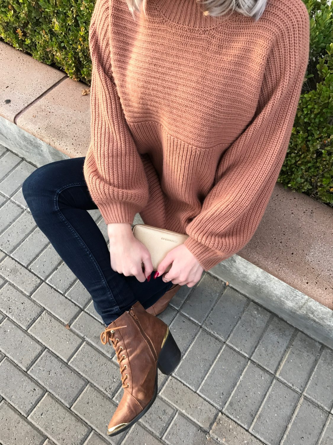 Chunky Knits and Pointed Booties